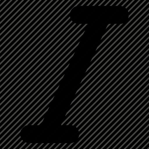 font, italic, italics, type, typography icon