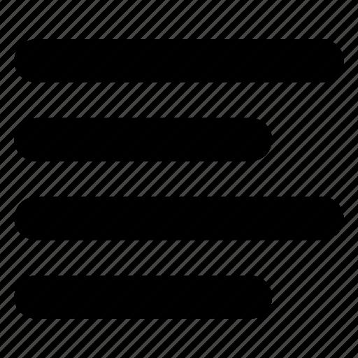 align, alignment, format, left, left align, text icon
