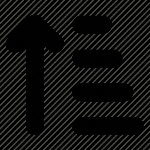 arrange, filter, order, sort icon