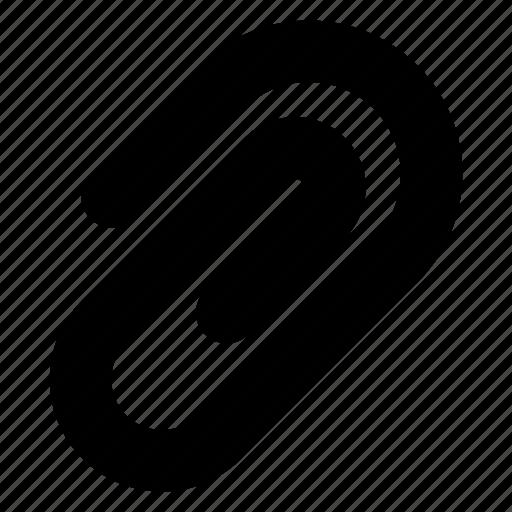 attach, attachment, clip, insert, paperclip icon