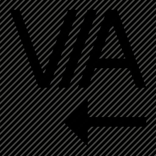font, kerning, text icon