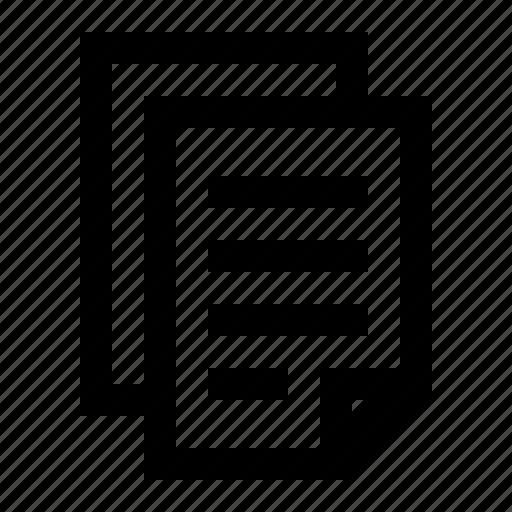 copy, document, duplicate icon