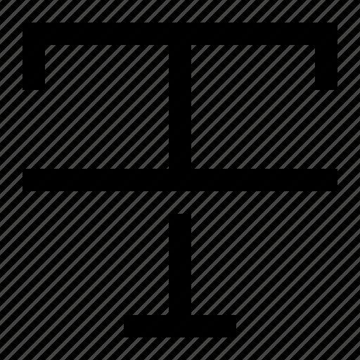 font, strikethrough, text, type icon