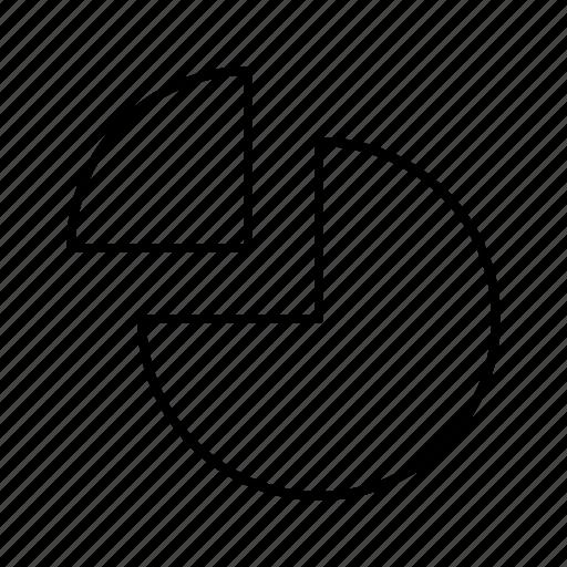 author, chart, editor, pie, text, write, writer icon