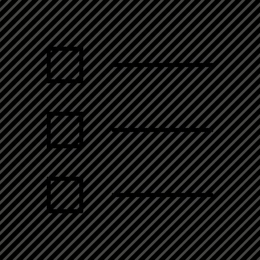 author, editor, list, square, text, write, writer icon
