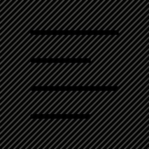 align, author, editor, left, text, write, writer icon