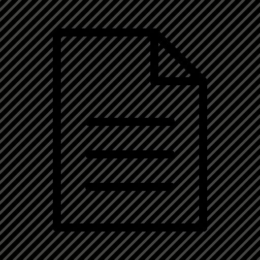 author, editor, file, text, write, writer icon