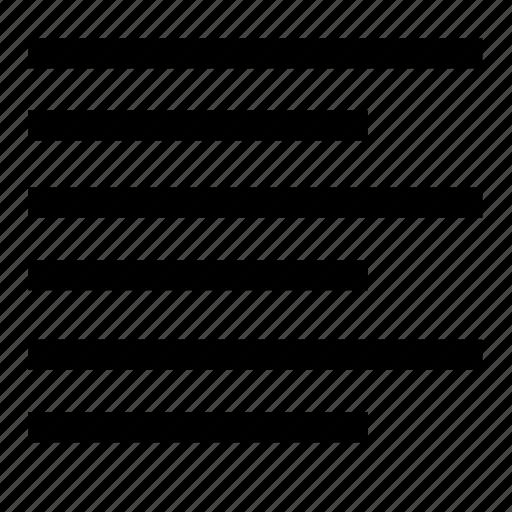 align, edit, format, left, text icon