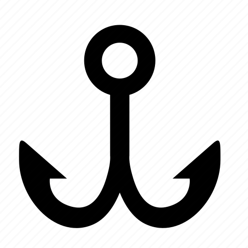 anchor, edit, place, text icon