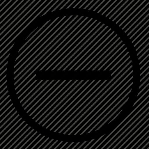 document, edit, minus, scale, text icon