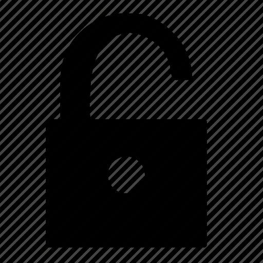 access, document, edit, text, unblock, uplock icon