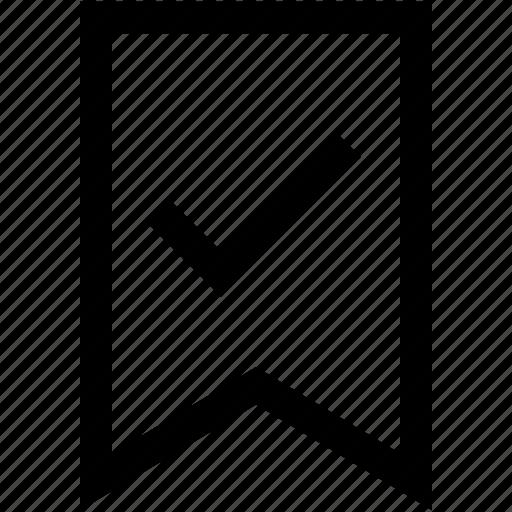 author, check, edit, flag, mark, text, type icon