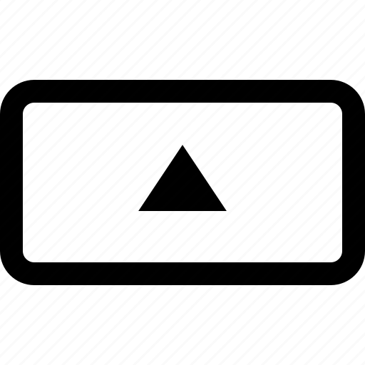 arrow, key, keyboard, up icon