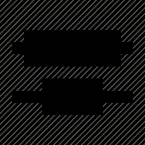 align, alignment, arrange, arrangement, layout, middle icon