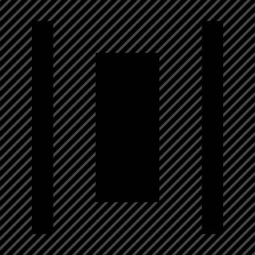 align, alignment, arrange, arrangement, distribute, layout icon