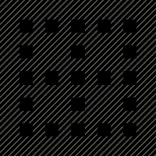 cells, data, database, grid, spreadsheet, table icon