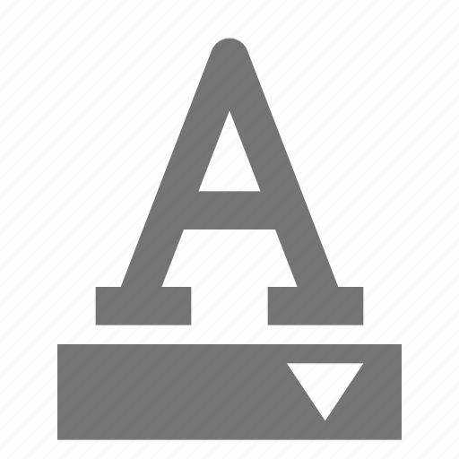 color, font icon