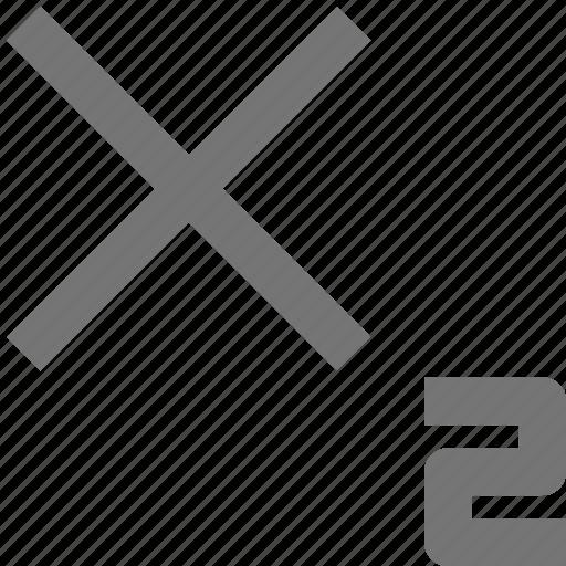 subscript icon