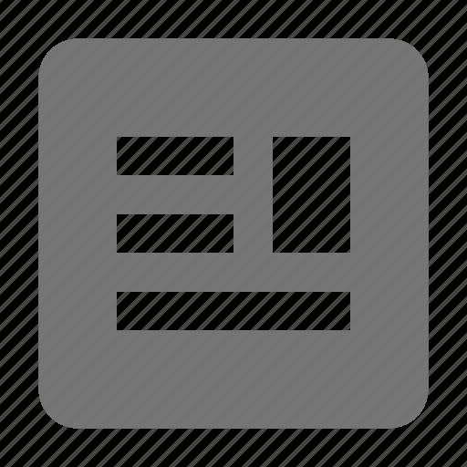 text, wrap around text icon