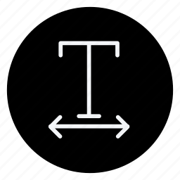 align, email, mail, sign, text, type, underlined icon