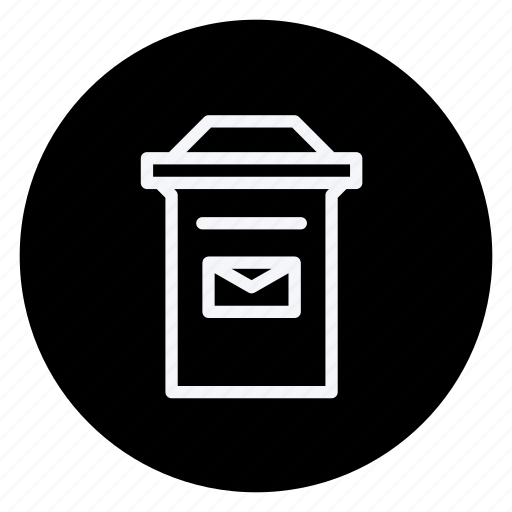 align, email, letterbox, mail, mailbox, text, type icon