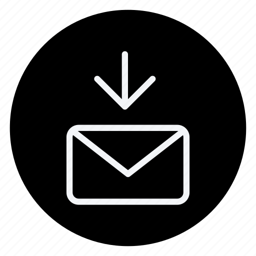 align, email, mail, mail in, mailreceive, text, type icon
