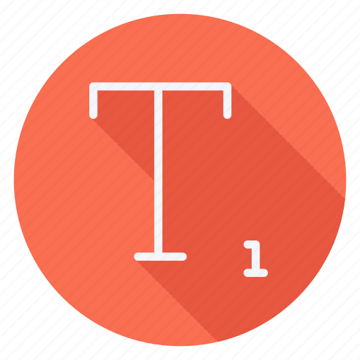 align, email, mail, sign, subscript, text, type icon