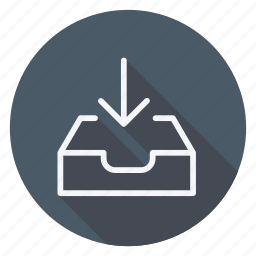 align, email, in, mail, mail receive, text, type icon