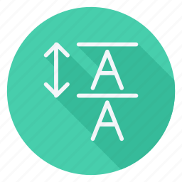 align, email, mail, sign, sort, text, type icon