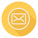 email, letter, mail, message, sign, text, type icon