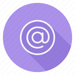 align, at, document, email, mail, text, type icon