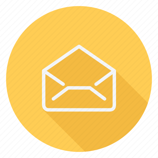 email, envelope, mail, message, open envelope, text, type icon