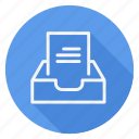 align, document, email, file, inbox, mail, text icon
