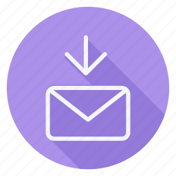 email, in, mail, mail in, sign, text, type icon