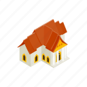 architecture, background, culture, house, isometric, thailand, traditional icon