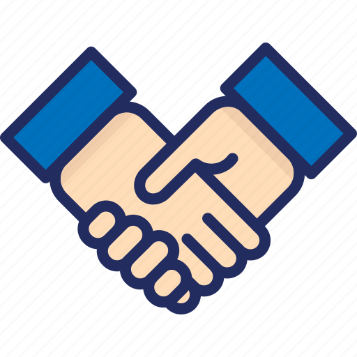 aggrement, deal, hand shake, hands, thank you icon