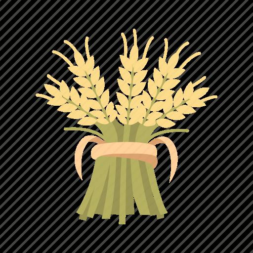 flour, grain, harvest, plant icon