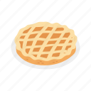 apple pie, pie, pumpkin pie, thanksgiving icon