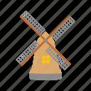 windmill, dutch, wind, wind turbine