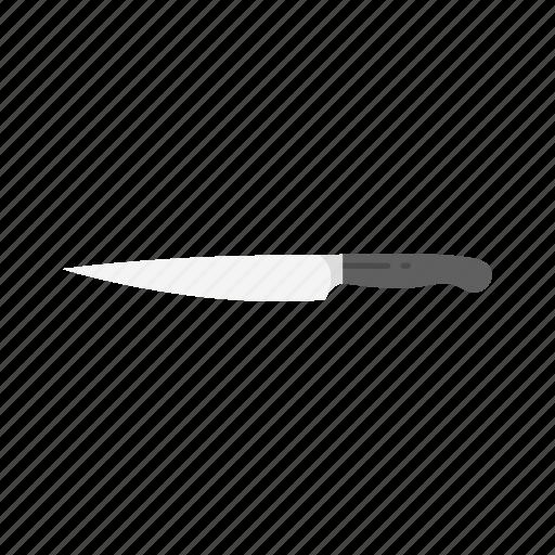 cut, kitchen tools, knife, sharp knife icon
