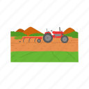 farm, farming, john deere, tractor icon