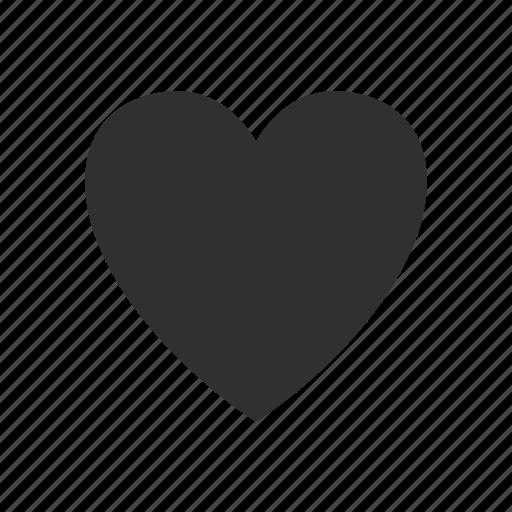 heart, love, peace, shape icon
