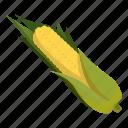 cartoon, corn, food, fresh, garden, healthy, vegetarian