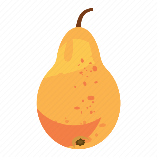 Cartoon, colorful, food, fresh, garden, healthy, pear icon - Download on Iconfinder
