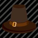 brown hat, cartoon, creepy, decoration, fun, halloween, holiday