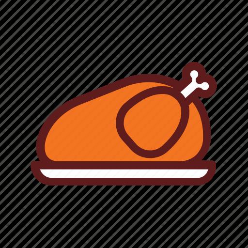 autumn, holiday, thanksgiving, turkey icon