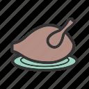 food, meat, roast, roasted chicken, roasted turkey, turkey