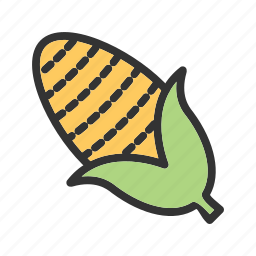 corn, cornocupia, crop, food, fresh, harvest, vegetables icon