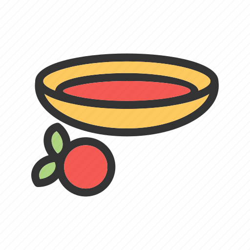 cranberry, fruit, jelly, red, sauce, sweet, thanksgiving icon