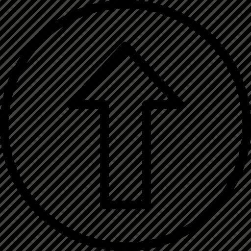 Arrow, essentials, outline, up icon - Download on Iconfinder